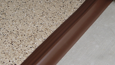 Tsunami Seal® Garage Door Threshold Seal (Brown)