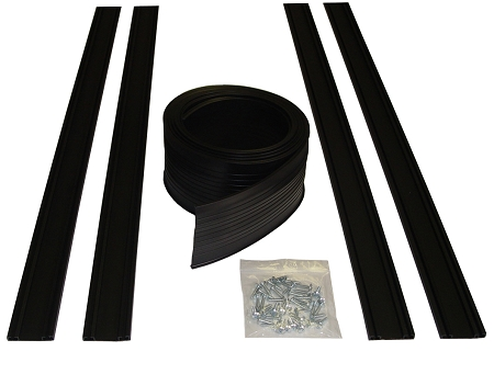 ProSeal™ Residential Garage Door Replacement Bottom Seal Kits (Kit Includes, tracks, seal and mounting screws)