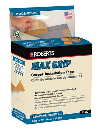 Max Grip Carpet Tape