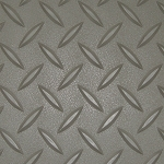 Pewter RoughTex Diamond Deck® Roll Out Flooring
