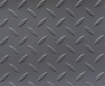 Diamond Deck® Roll Out Flooring (Battleship Gray)