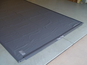 Standard 20-mil Clean Park® Garage Mat, with 1 Year Warranty