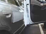 Park Smart® Stick-On Door Guard (Clear)