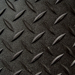 Black 5x6' Pet Pad/ATV Mat