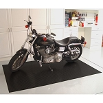 Black 5x7.5' Motorcycle Mat
